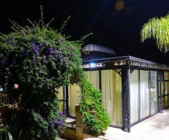 Tenuta Montenari - Vista esterna del gazebo per matrimoni