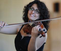 Violino per la cerimonia di matrimonio