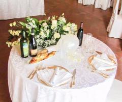 Castello di Cortanze - Il tavolo degli sposi