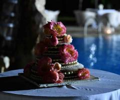Agriturismo Tredicina - Torta di nozze decorata