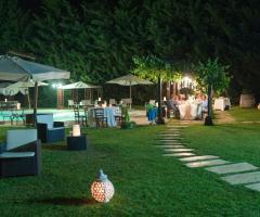 Masseria Montepaolo - Il ricevimento di sera