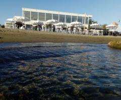 Enea Palace - Vista dal mare