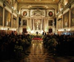 Celebrazione del rito presso Scuola Grande San Giovanni Evangelista