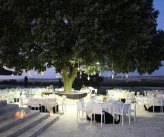 Masseria Torre di Nebbia - Il ricevimento di nozze di sera