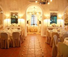 La Terra degli Aranci - Sala interna per il banchetto di nozze
