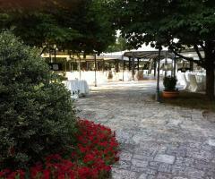 Casa Isabella - Gli ampi spazi per il rinfresco
