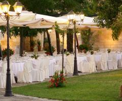 Masseria San Lorenzo -  I tavoli degli invitati