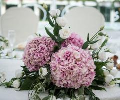 Il Vittoriano Ricevimenti - Dettagli floreali
