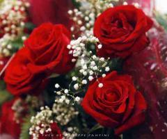 Grand Hotel Continental - Addobbi floreali di rose rosse per il matrimonio