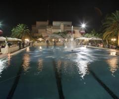 Fontane e giochi d'acqua in piscina - Il Brigantino Barletta