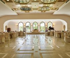 Borgo Ducale Brindisi - Il ricevimento di nozze nella sala interna