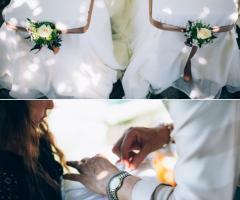 Maria Mayer Events - Dettagli matrimonio colori naturali