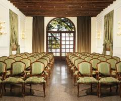 Hotel Villa Michelangelo - Sala Teatro della location di matrimonio