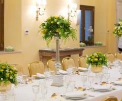 Fiori per i tavoli di nozze