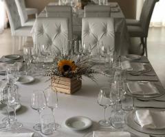 Villa Natìa - Allestimento per il ricevimento di nozze