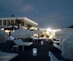 Enea Palace - Vista dalla spiaggia