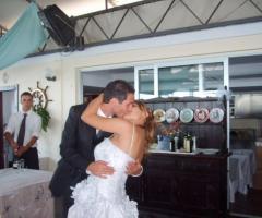 Animazione matrimoni - Un bacio appassionato