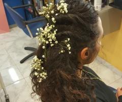 Rosa Laguardia Hair Style - L'acconciatura per la sposa a Roma