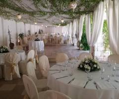 Villa San Martino - Allestimento per il ricevimento di nozze
