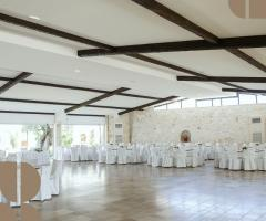 Masseria Bonelli - La sala interna