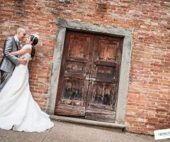 Sposi matrimonio a San miniato - Qualcosa di Blu