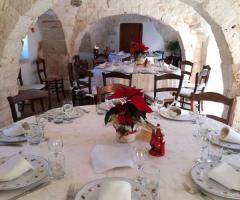 Masseria del Gelso Antico - Nella sala interna