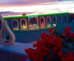 Parco della Laguna Lesina - La location al tramonto
