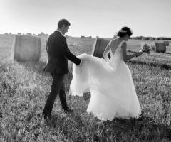 Wedd Happy Story Matrimoni in Puglia - Le foto in bianco e nero