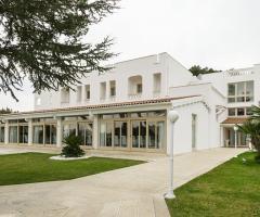 Villa Natìa - Gli esterni