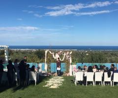 Masseria Santa Teresa - il matrimonio con il rito civile