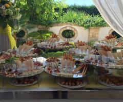 Villa Reale Ricevimenti - Il buffet degli antipasti