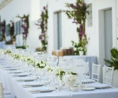 F&B Luxury Events - Tavolo per il matrimonio