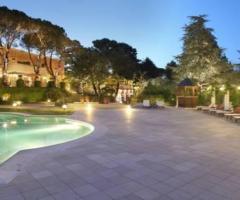 Villa San Martino - Vista con la piscina