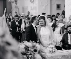 Attimi autentici - Gli sposi all'altare