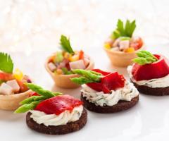T'a Milano Catering & Banqueting - Finger food salati per il matrimonio