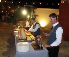 Masseria Torre Coccaro - Buffet di salumi e formaggi per il ricevimento di matrimonio