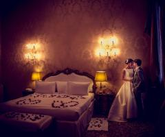 Grand Hotel dei Dogi - Sposi nella loro suite di nozze