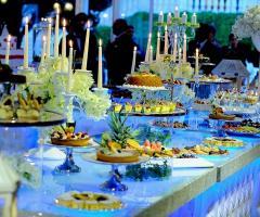 Buffet di nozze per il matrimonio