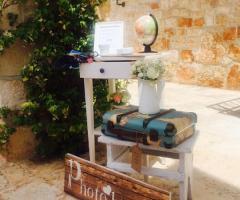 Masseria Grieco - L'angolo delle foto ricordo delle nozze
