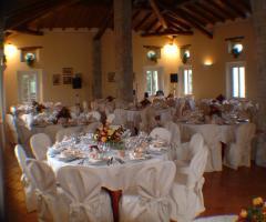 Villa Fabio - La sala per il ricevimento di nozze