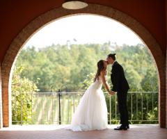 Assia Spa - l bacio degli sposi