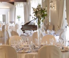 Villa Demetra - Particolari dei tavoli