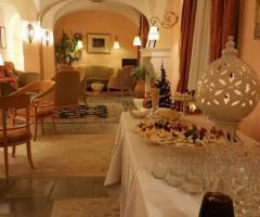 Villa San Martino - Antipasti nella sala interna