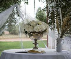 Laura's Wedding - Allestimento per le nozze all'aperto