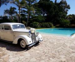 Antony Live - Noleggio Mercedes 170DS per le nozze