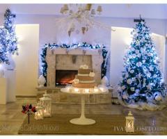 Masseria Cariello Nuovo - La sala ricevimenti nel periodi di Natale