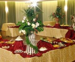 Tavolo del buffet inbandito - Il Brigantino Barletta