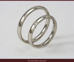 Biffi Gioielli - Fede matrimoniale in oro bianco