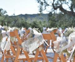 Masseria Grieco - L'allestimento per la cerimonia