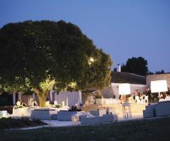 Masseria Torre di Nebbia -  Sposarsi di sera in Puglia